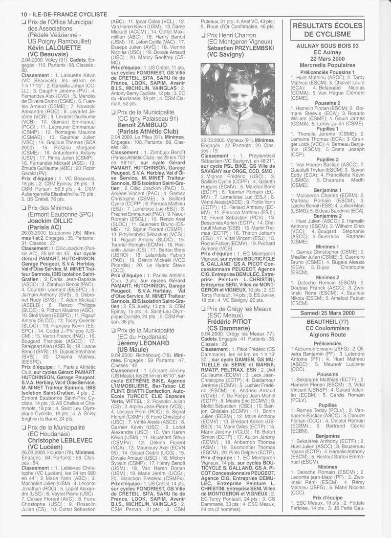 Coureurs et Clubs de janvier 2000 à juillet 2004 - Page 4 0_00919