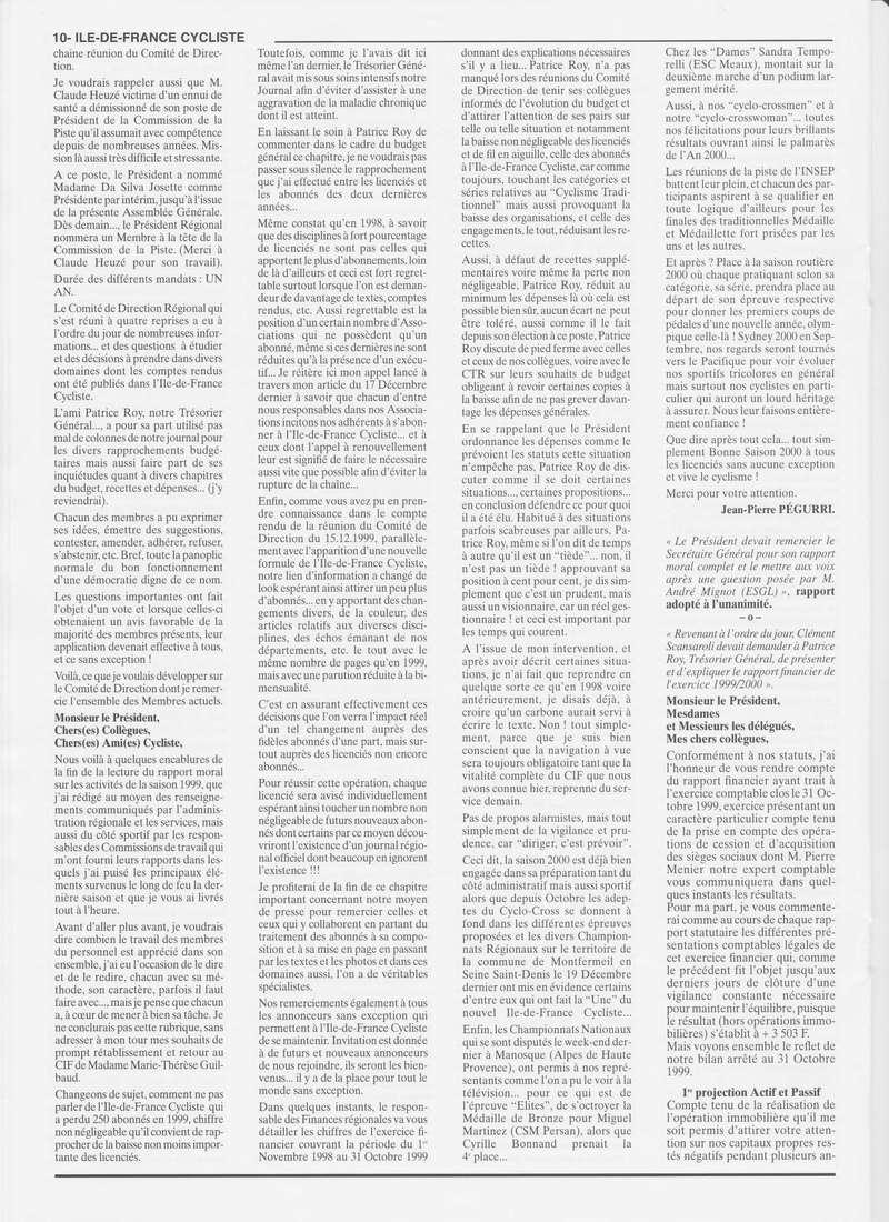 Coureurs et Clubs de janvier 2000 à juillet 2004 0_01016