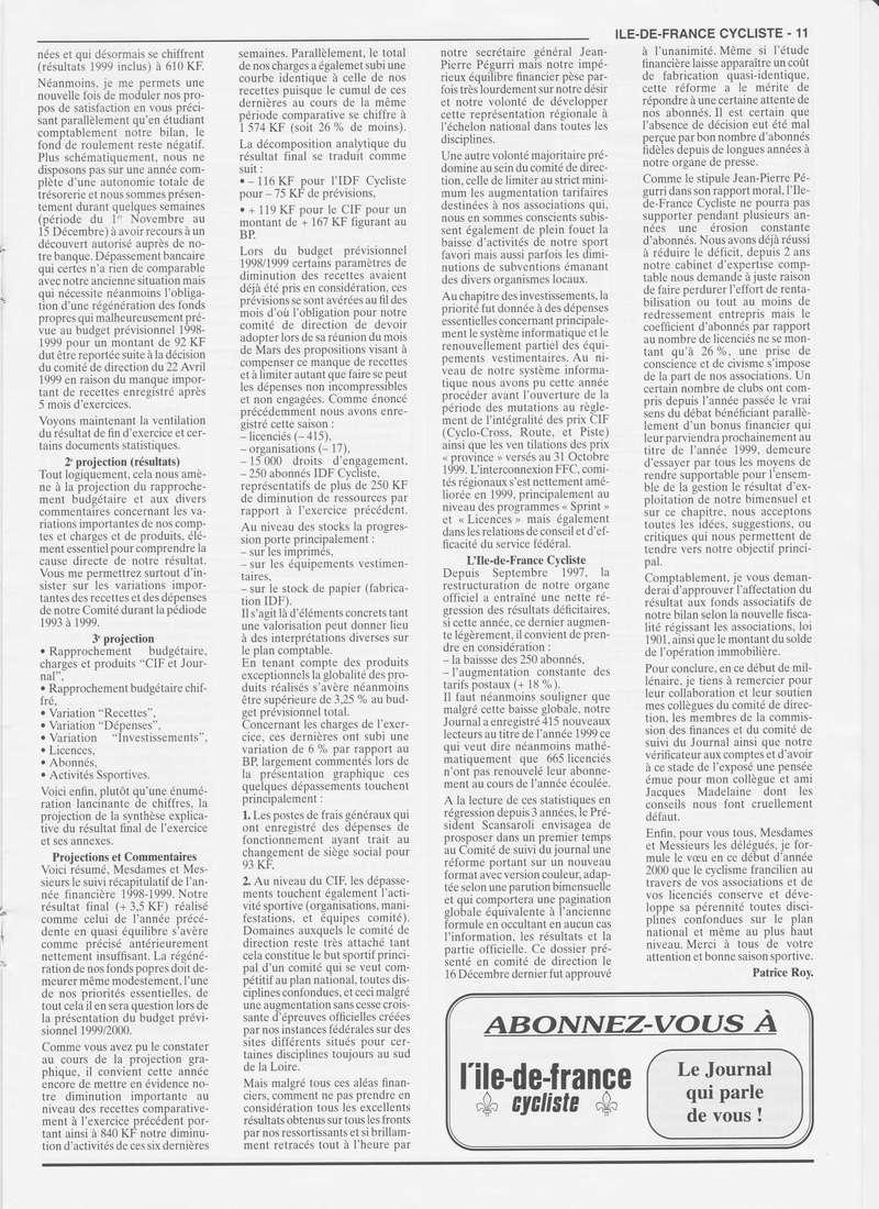 Coureurs et Clubs de janvier 2000 à juillet 2004 0_01115
