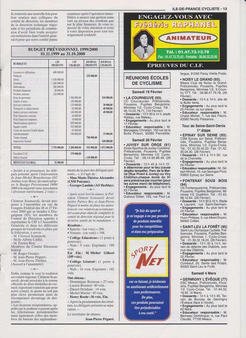 Coureurs et Clubs de janvier 2000 à juillet 2004 0_01316