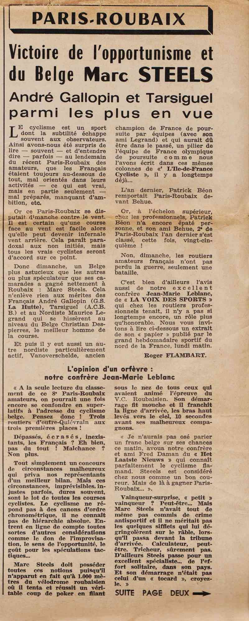Coureurs et Clubs de juin 1974 à mars 1977 1974_012