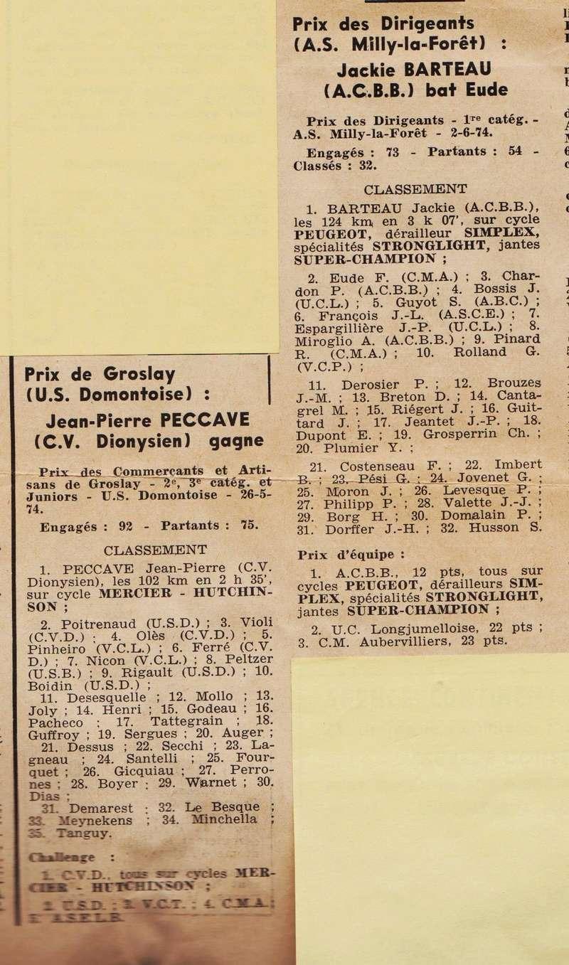 Coureurs et Clubs de juin 1974 à mars 1977 1974_015