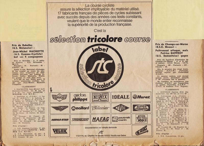 Coureurs et Clubs de juin 1974 à mars 1977 1974_018