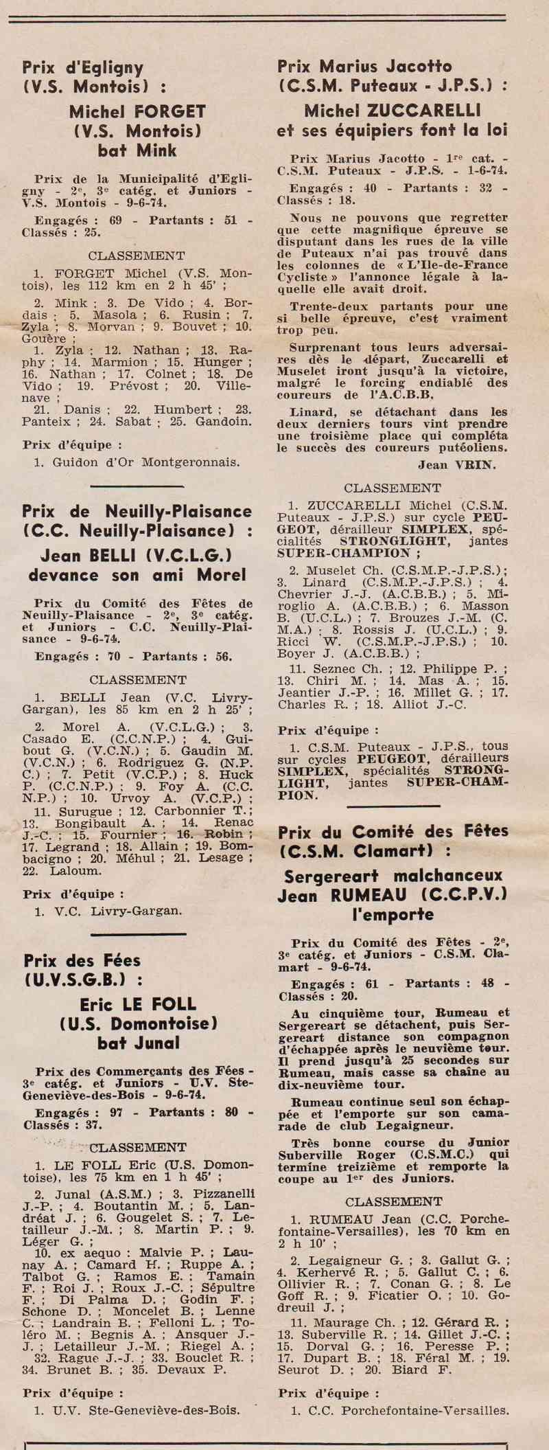 Coureurs et Clubs de juin 1974 à mars 1977 1974_020