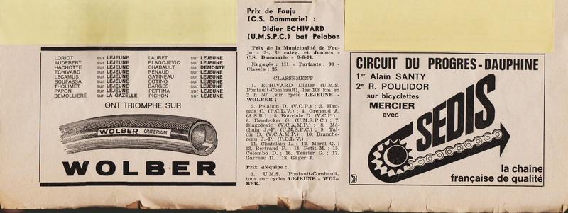 Coureurs et Clubs de juin 1974 à mars 1977 1974_021