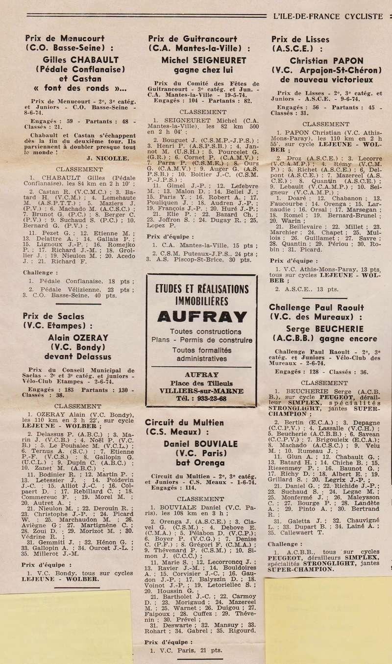 Coureurs et Clubs de juin 1974 à mars 1977 1974_022