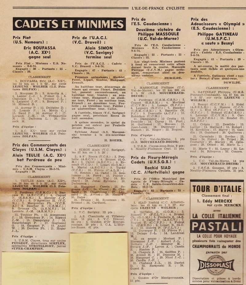 Coureurs et Clubs de juin 1974 à mars 1977 1974_029