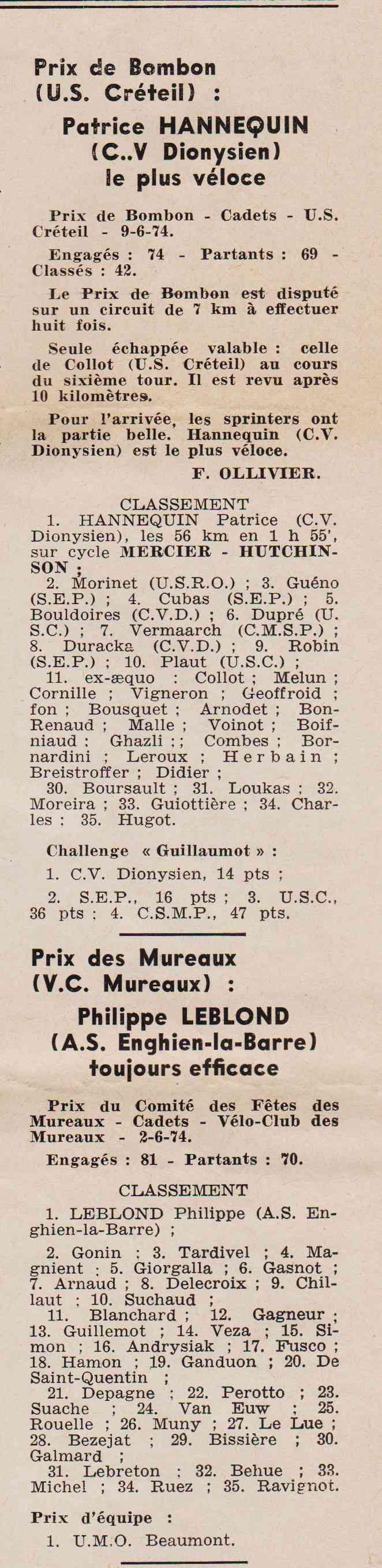 Coureurs et Clubs de juin 1974 à mars 1977 1974_035