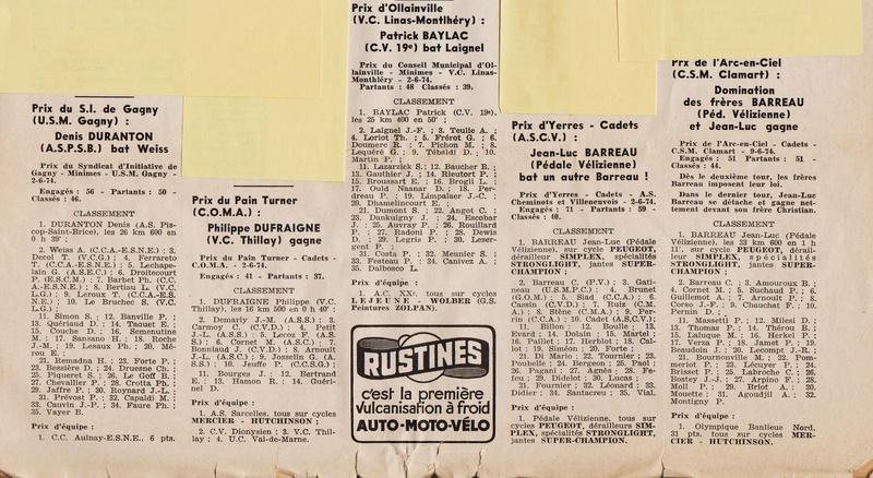 Coureurs et Clubs de juin 1974 à mars 1977 1974_037