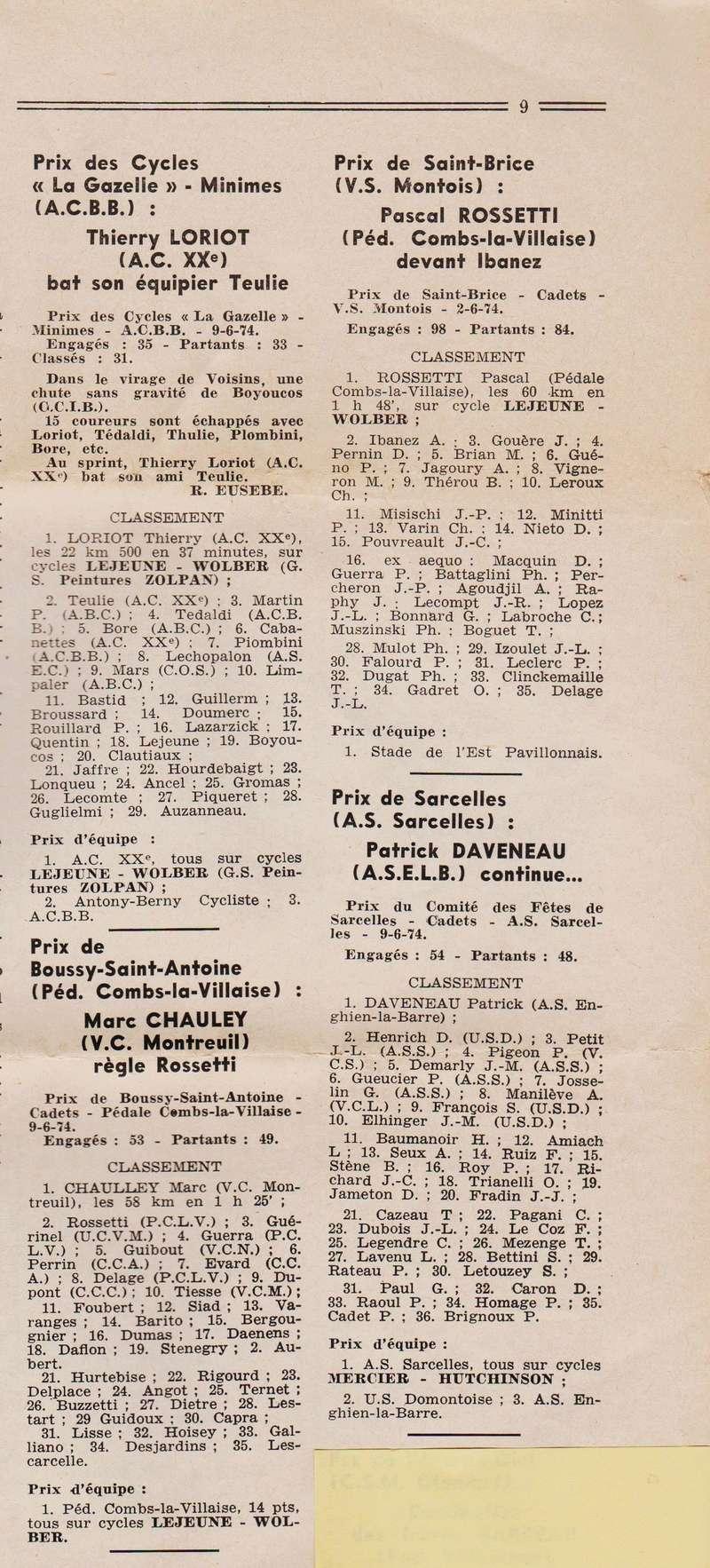 Coureurs et Clubs de juin 1974 à mars 1977 1974_038