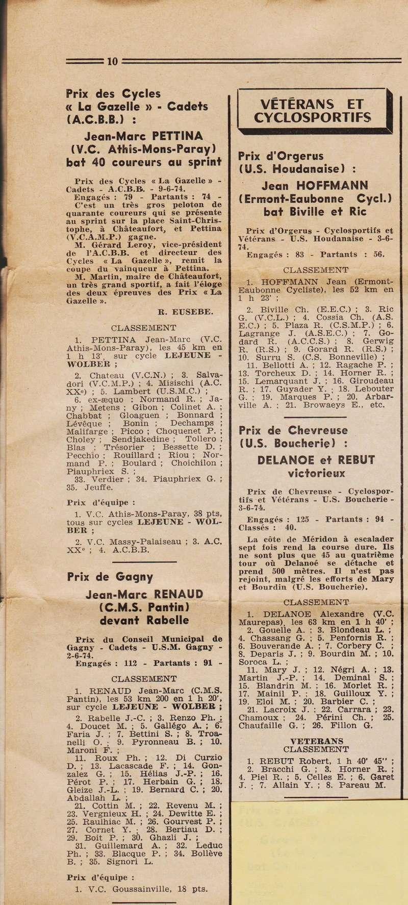 Coureurs et Clubs de juin 1974 à mars 1977 1974_039