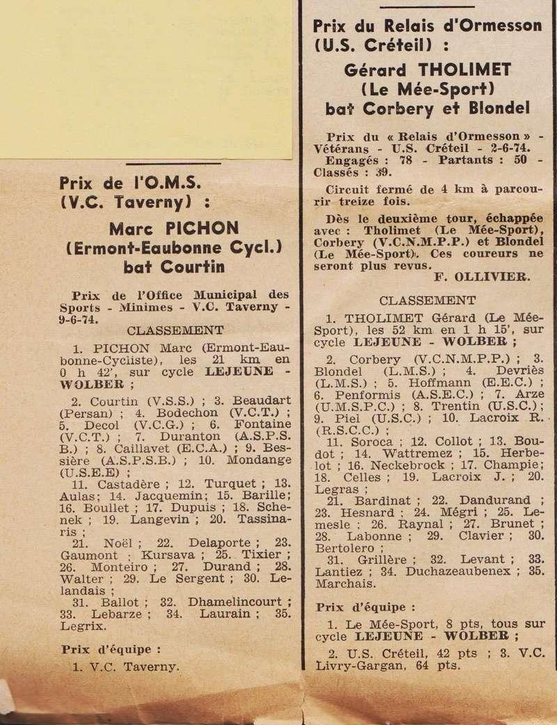 Coureurs et Clubs de juin 1974 à mars 1977 1974_040