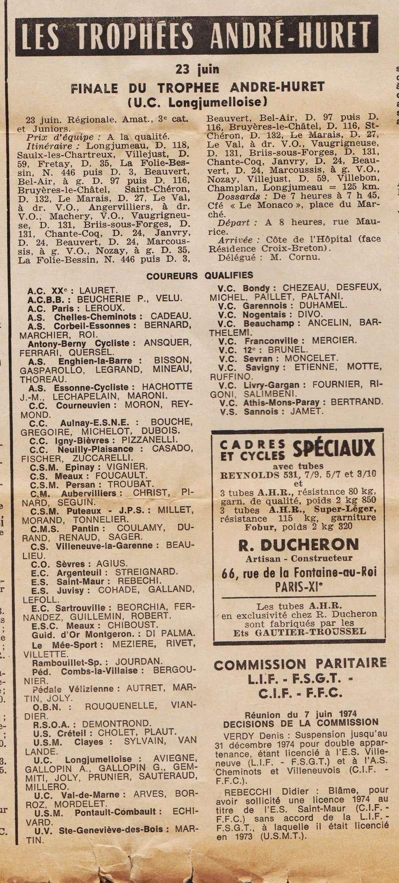 Coureurs et Clubs de juin 1974 à mars 1977 1974_041
