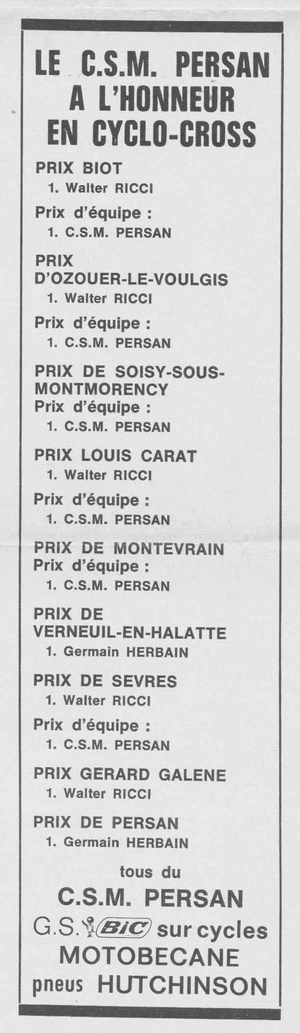 CSM.Persan.BIC. Toute une époque de juin 1974 à......... 1974_055