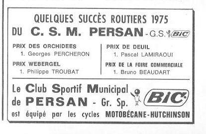 CSM.Persan.BIC. Toute une époque de juin 1974 à......... 3_04011