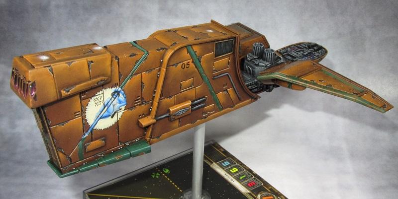 Overburns bunte Schiffchen Vx-66610