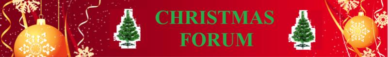 Christmas Forum