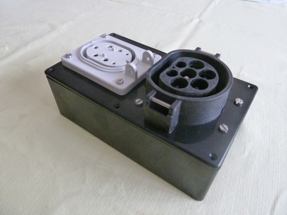 Adaptateur de rallonge pour borne rapide squattée P1040111