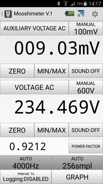 Mesures électriques sur ma borne Schneider 7 kW et mon Flexichargeur Screen12