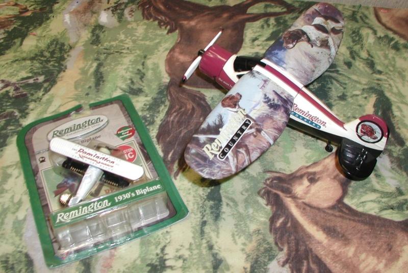 Remington's model airplane Midget12