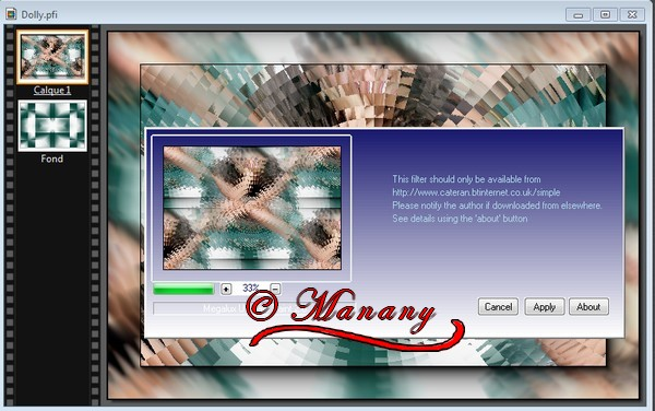 N° 7 Manany Tutorial Dolly 811