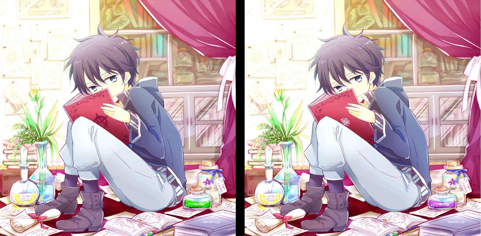 Jeu des 7 différences (Akagami no Shirayuki-hime) 7_erre13