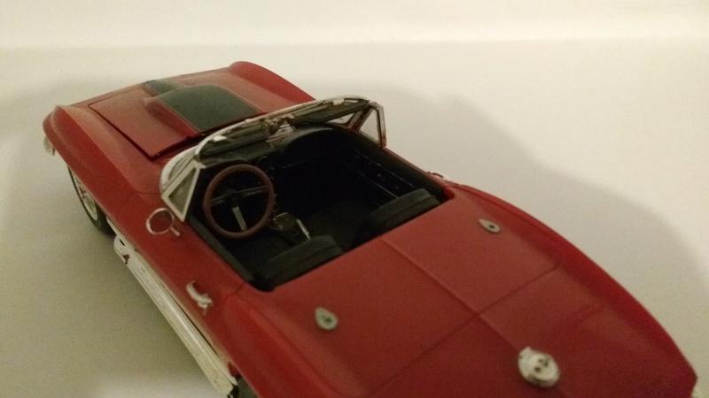 corvette 67 (vieux kit revell) Corvet11