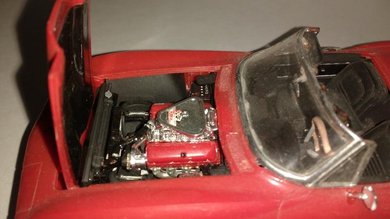 corvette 67 (vieux kit revell) Corvet12
