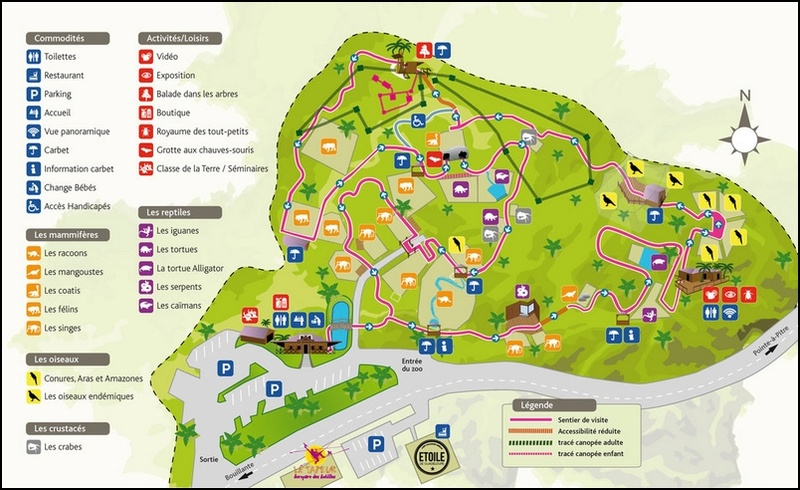 Parc des Mamelles Plan_m10
