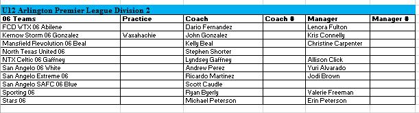 06 Team Listing - Sept 4, 2017 700510