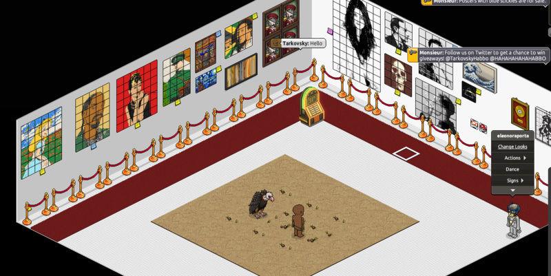 Nuovi artisti di opere su habbo.com Sette10