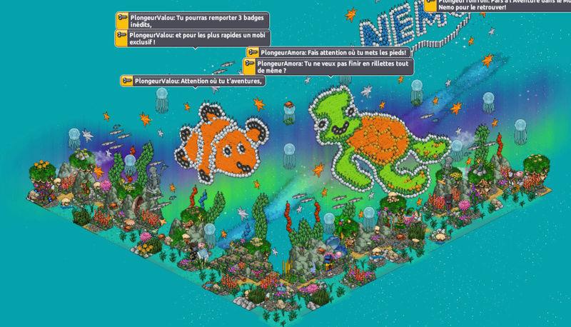 [FR] Gioco Le monde de Nemo #1 Sottom10