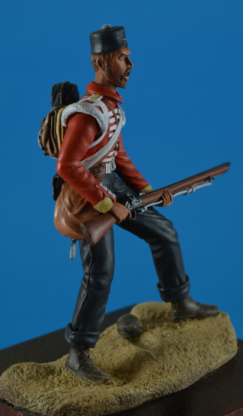 Soldat du 77th East Middlessex Crimée 1854 Cote_110