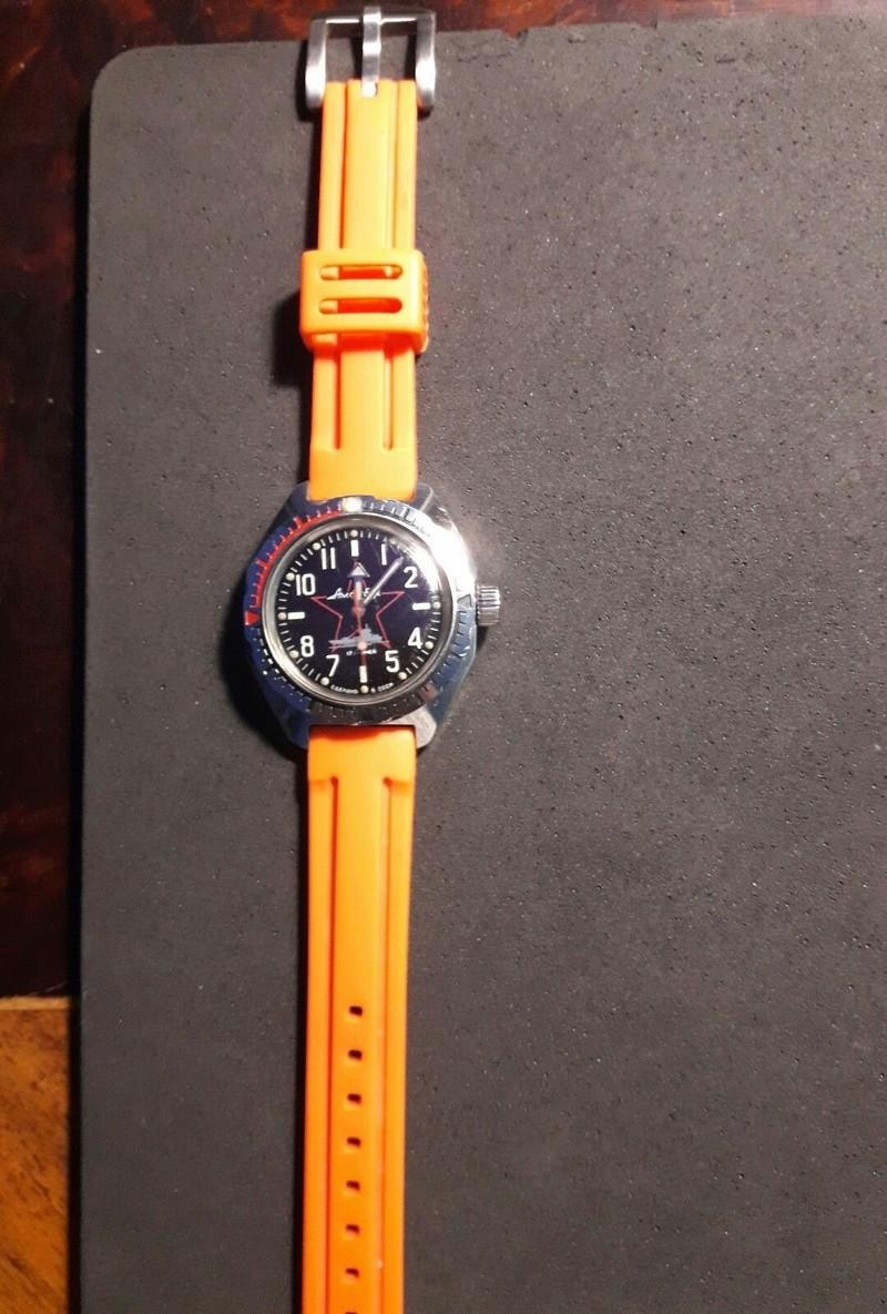 vostok bracelet caoutchouc A13