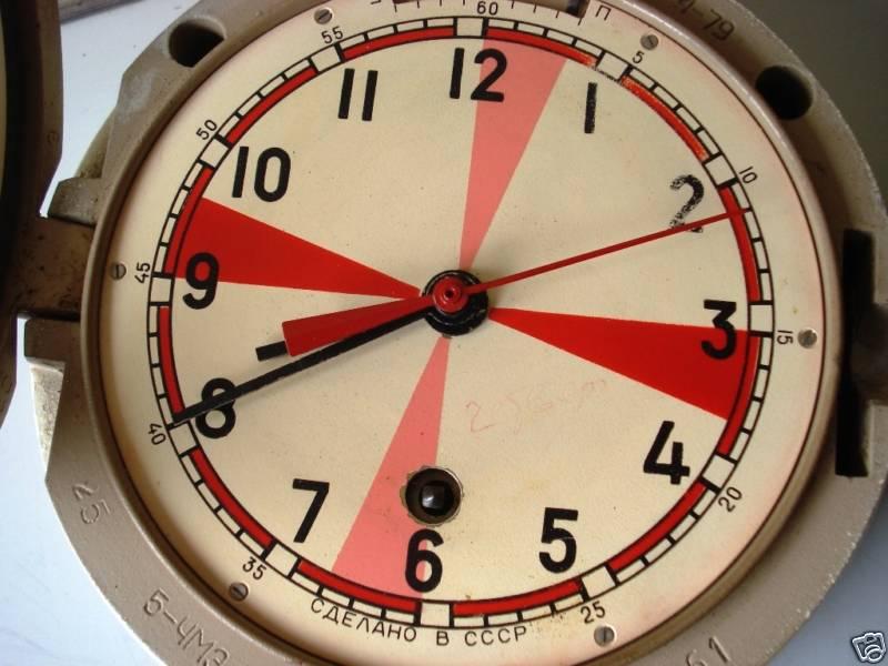 Horloge de marine Vostok Radior10