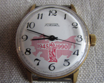 Les montres soviétiques commémoratives de la victoire  Raketa12