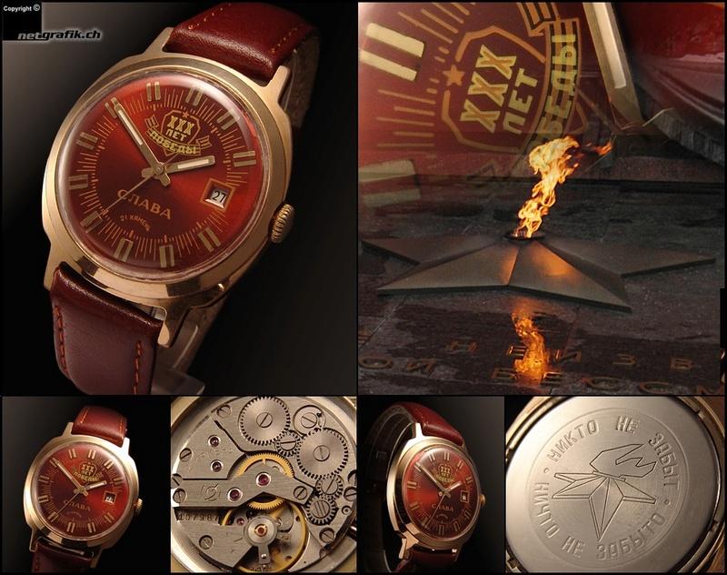 Les montres soviétiques commémoratives de la victoire  Slava310