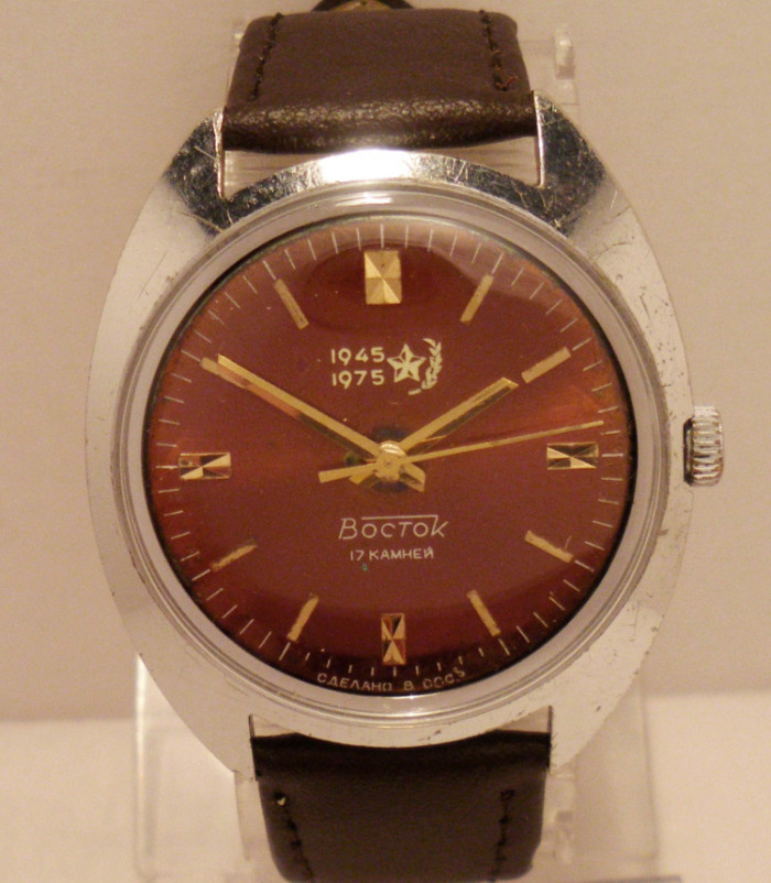 Les montres soviétiques commémoratives de la victoire  Vostok16