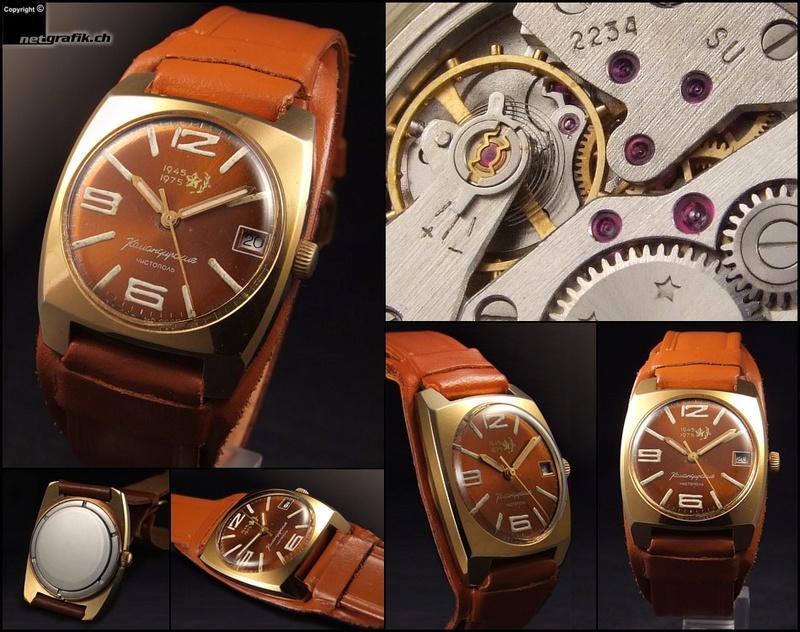Les montres soviétiques commémoratives de la victoire  Vostok20