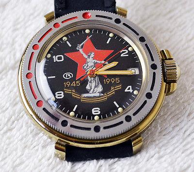 Les montres russes commémoratives de la victoire Vostok23