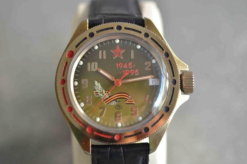 Les montres russes commémoratives de la victoire Vostok30