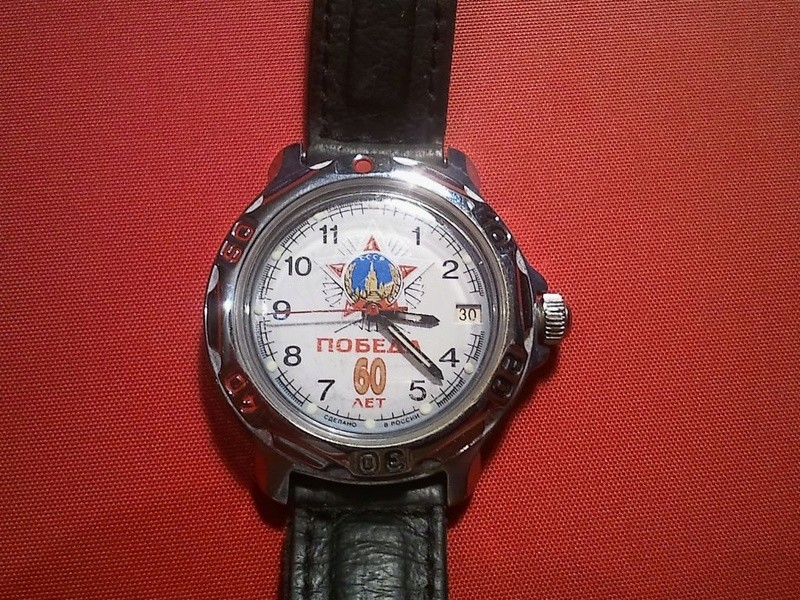 Les montres russes commémoratives de la victoire Vostok34