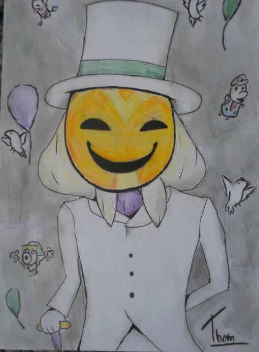 Quand Thomtom rencontre ses amis les crayons... Gentel10
