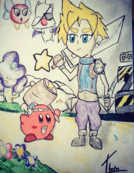 Quand Thomtom rencontre ses amis les crayons... Kirby_11
