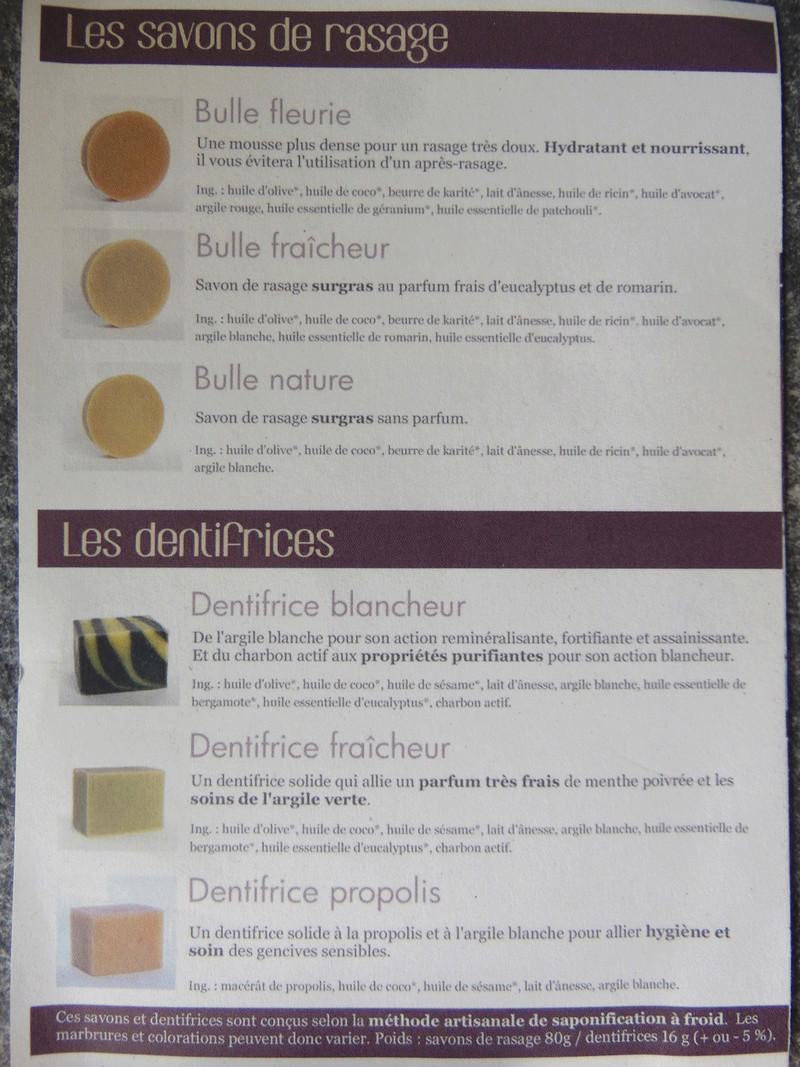 """Savon de rasage  """" aux grandes z'oreilles"""" Dsc05320"""