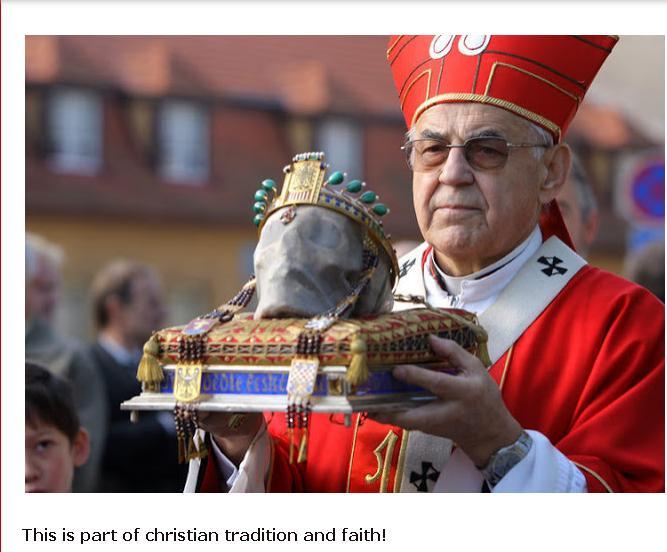 culte - Le culte des saints et de leurs reliques chez les chrétiens Saint_10