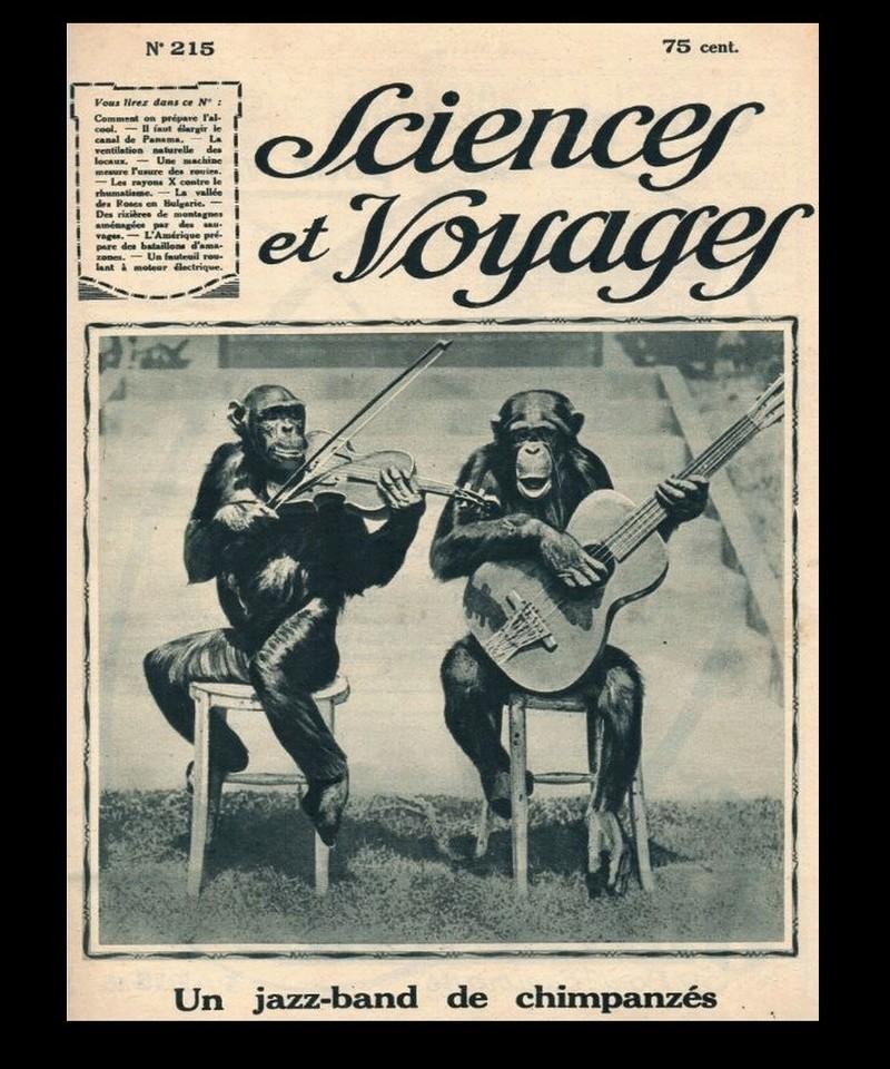 Un jazz-band de chimpanzés (1923) Az12