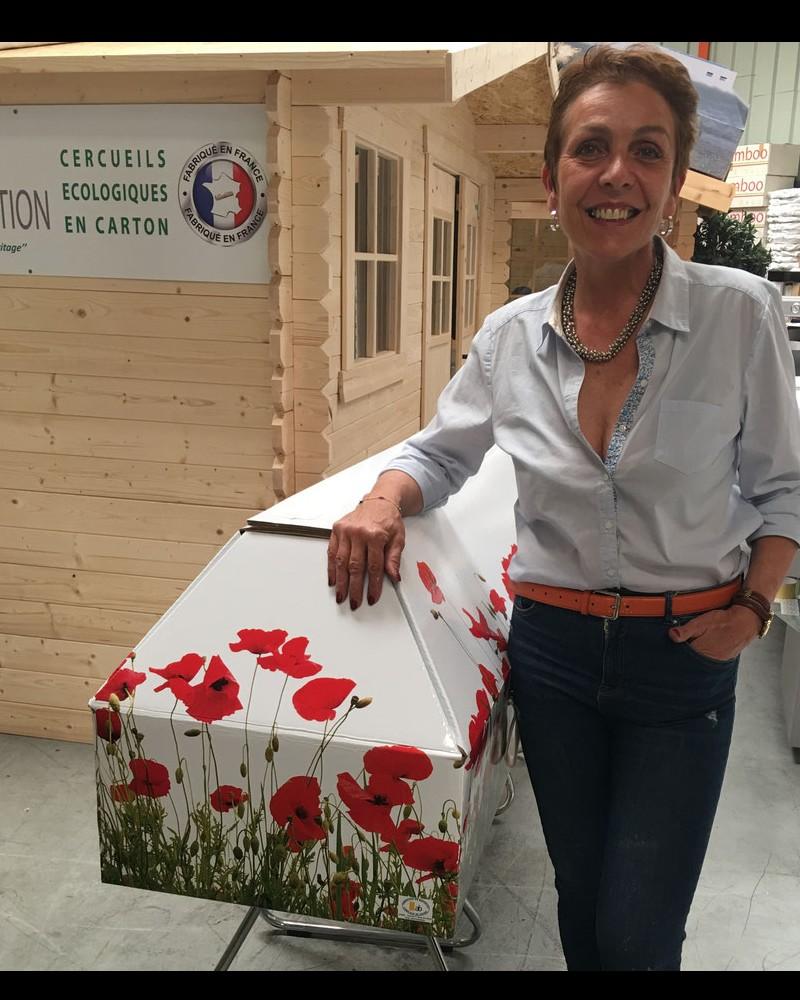 Des cercueils français en carton 100 % écologique B11