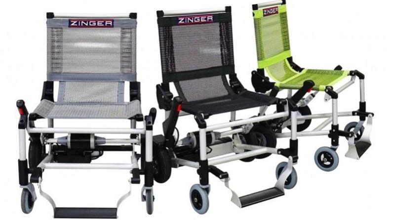 Le fauteuil roulant zinger Sans_473