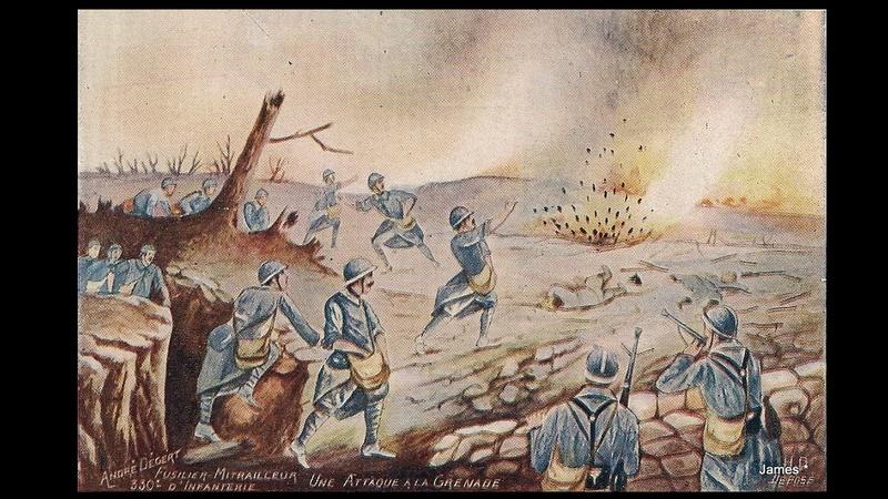 Guerre de 14/18 cartes dessinées Sans_t32